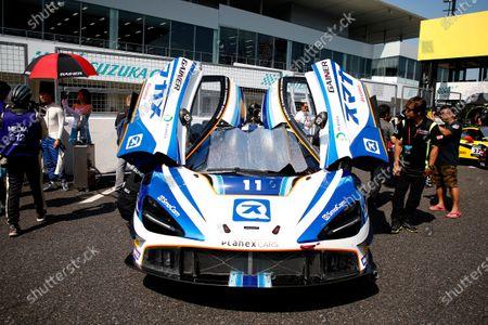 #11 Planex Smacam Racing McLaren 720S GT3: Mika Hakkinen, Katsuaki Kubota, Hiroaki Ishiura.
