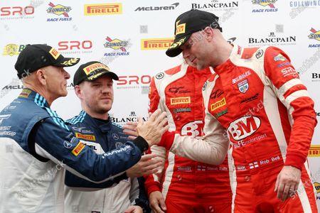 Ian Loggie / Callum Macleod RAM Racing Mercedes-AMG GT3 and Shaun Balfe / Rob Bell Balfe Motorsport McLaren 720S GT3