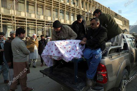 Editorial image of Kabul, Afghanistan - 23 Dec 2020