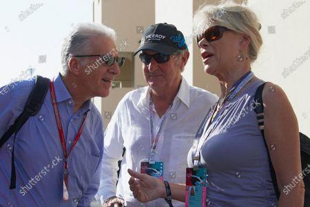 Piero Lardi Ferrari, Nick Mason, singer (next to him his wife Annette Lynton).