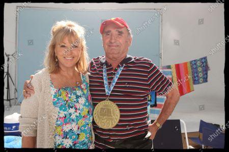 Claude Brasseur and Mylene Demongeot