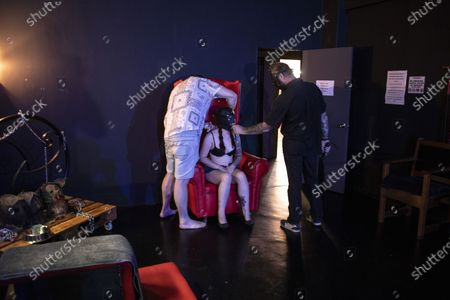 Editorial picture of BDSM play dungeon in Johannesburg, South Africa - 23 Dec 2020