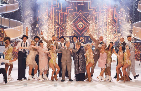 Editorial picture of 'The Real Full Monty On Ice' TV Show, UK - 14 Dec 2020