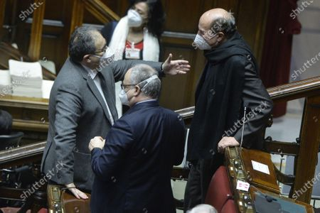 Editorial picture of Chamber of Deputies vote of confidence on The  budget law, Rome, Italy - 23 Dec 2020