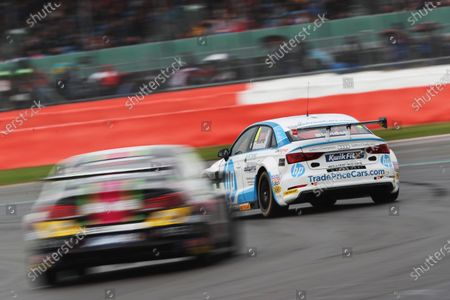 Stock Photo of Mark Blundell (GBR) Trade Price Cars Audi