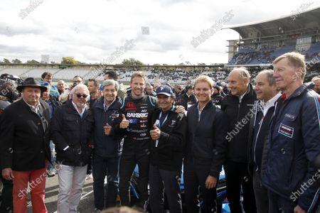 Jochen Mass, Keke Rosberg, Christian Geistdörfer, Jenson Button, Team Kunimitsu Honda, Nico Rosberg, Hans-Joachim Stuck, Gerhard Berger, ITR Chairman, Walter Röhrl.