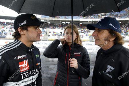 Pietro Fittipaldi, Audi Sport Team WRT and Emerson Fittipaldi.