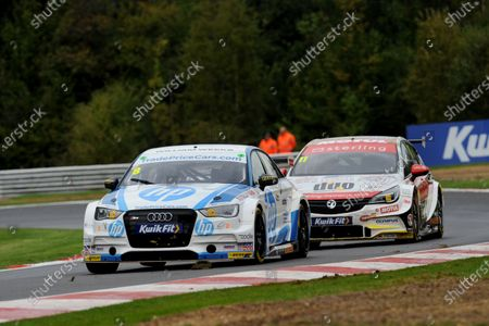 Stock Image of Mark Blundell (GBR) Trade Price Cars Audi