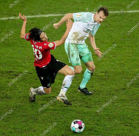Editorial photo of Hannover 96 vs Werder Bremen, Hanover, Germany - 23 Dec 2020