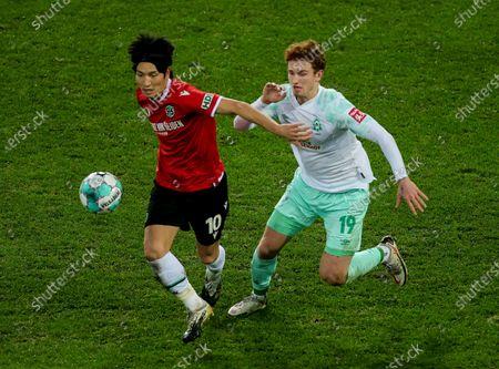 Editorial image of Hannover 96 vs Werder Bremen, Hanover, Germany - 23 Dec 2020