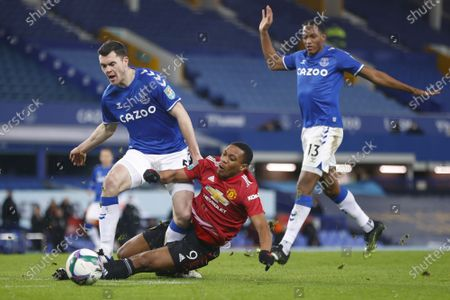 Editorial photo of Carabao Cup Everton vs Manchester United, Liverpool, United Kingdom - 23 Dec 2020