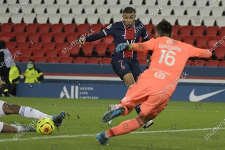 Editorial picture of Paris Saint Germain vs Strasboug, France - 23 Dec 2020