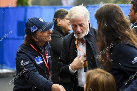 Danny Sullivan, FIA and Emerson Fittipaldi