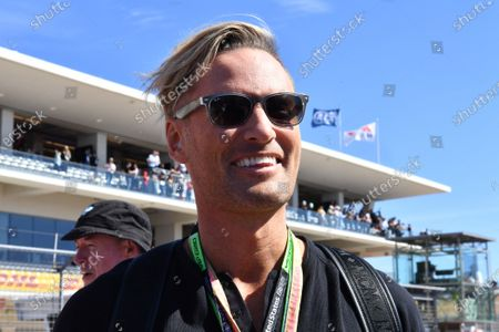 Musician Brian Tyler, composer of the F1 theme