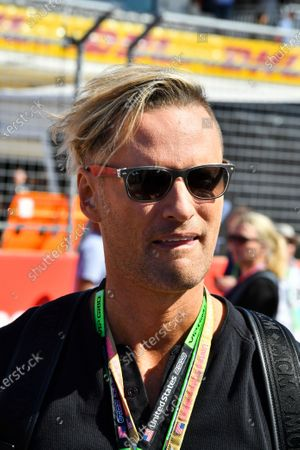 Musician Brian Tyler on the grid