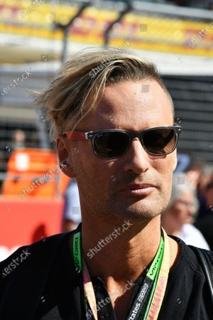 Musician and F1 theme composer Brian Tyler on the grid