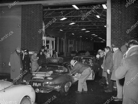 Editorial image of ERC, Monte Carlo Rally - 24 Jan 1963