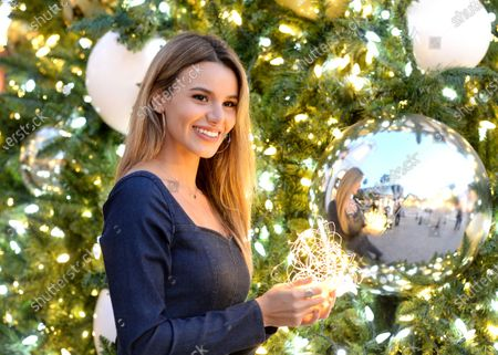 Madison Grace is seen on Rodeo Drive in Beverly Hills