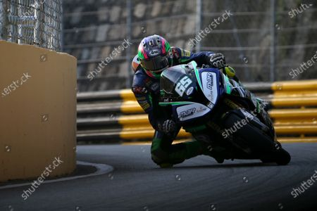 Stock Photo of Michael Sweeney, Martin Jones Racing BMW S1000RR.