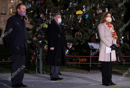 Editorial photo of Capitol Christmas Tree Lighting on Capitol Hill, Washington, DC, USA - 02 Dec 2020