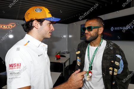 Carlos Sainz Jr, McLaren and Dani Alves, Footballer