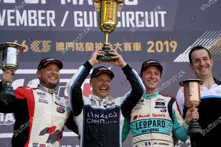 Editorial image of WTCR, Macau, Circuito da Guia, Macau - 17 Nov 2019