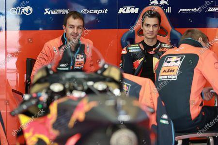 Stock Image of Dani Pedrosa, Red Bull KTM Factory Racing.