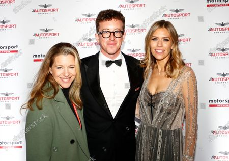 Stef Blendes, Dan Ryan and Nicki Shields, arrive on the red carpet