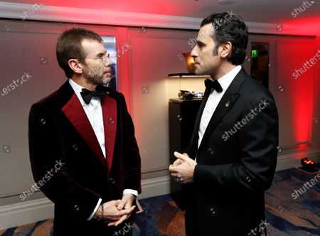 Paul Stewart and Dario Franchitti