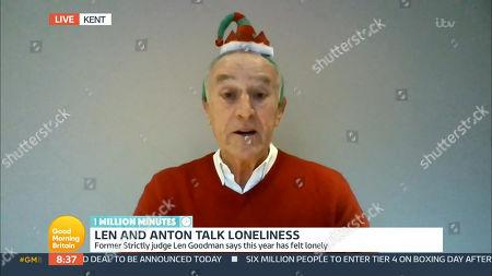 Editorial image of 'Good Morning Britain' TV Show, London, UK - 24 Dec 2020