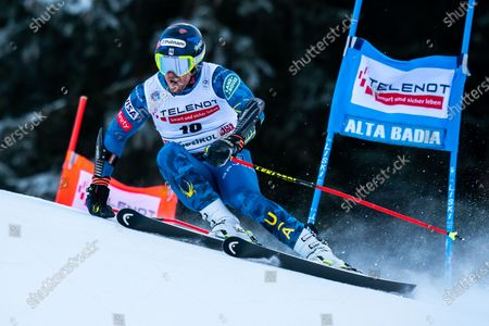 Editorial picture of Audi Fis Alpine Skiing World Cup Men's Giant Slalom, La Villa Alta Badia, Italy - 20 Dec 2020