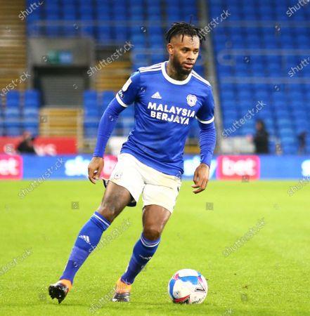 Leandro Bacuna of Cardiff City; Cardiff City Stadium, Cardiff, Glamorgan, Wales; English Football League Championship Football, Cardiff City versus Brentford.