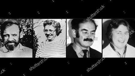 Victims (l-r) Victims Peter and Gwenda Dixon and brother and sister Richard and Helen Thomas
