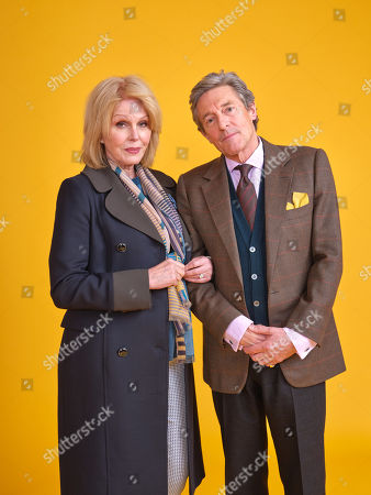 Joanna Lumley as Sarah and Nigel Havers as Roger.