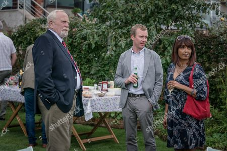 James Cosmo as Bill Bradwell, Steven Robertson as Mark Bradwell and Sunetra Sarker as Stella Bradwell
