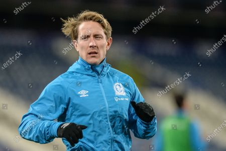 Lewis Holtby #10 of Blackburn Rovers during warm up