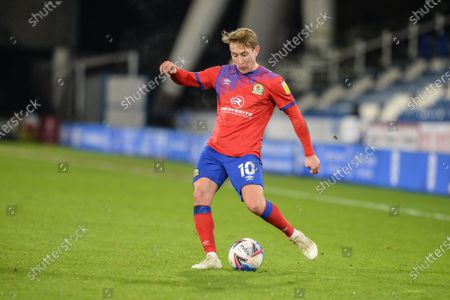 Lewis Holtby #10 of Blackburn Rovers in action during the game