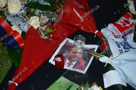 Editorial image of Hommage to Gerard Houllier, Lyon, France - 23 Dec 2020