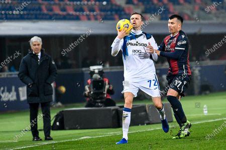 Editorial image of Bologna FC vs Atalanta Bergamasca Calcio, Italian football Serie A match, Italy - 23 Dec 2020