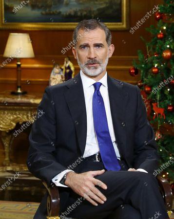 King Felipe's Christmas speech, Madrid