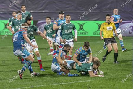 Editorial photo of Aviron Bayonnais v Leicesters Tigers, Challenge Cup, Rugby, France - 19 Dec 2020