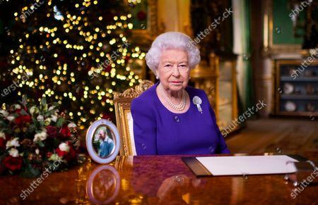 Queen Elizabeth II annual Christmas broadcast, Windsor Castle