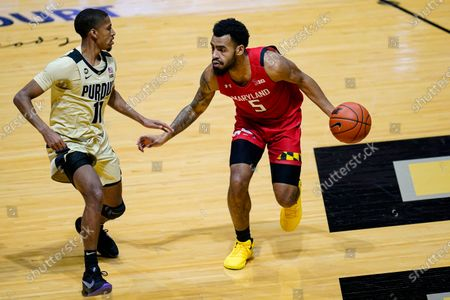 Editorial picture of Maryland Purdue Basketball, West Lafayette, United States - 25 Dec 2020