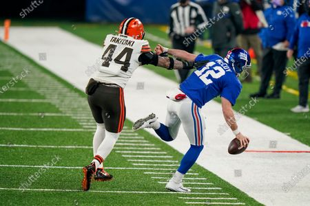 Editorial image of Browns Giants Football, East Rutherford, United States - 20 Dec 2020
