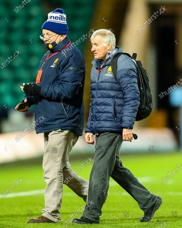 Worcester Warriors director of rugby Alan Solomons following the final whistle- Mandatory by-line: Nick Browning/JMP