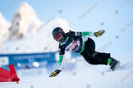 Editorial picture of Fis Snowboard World Cup 2021, Cortina d'Ampezzo, Italy - 12 Dec 2020