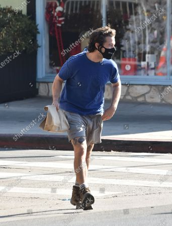Editorial image of Shia LaBeouf out and about, Los Angeles, California, USA - 26 Dec 2020