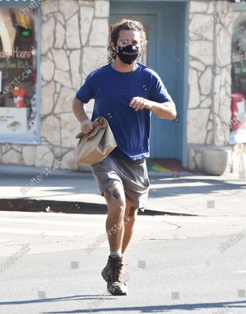 Editorial photo of Shia LaBeouf out and about, Los Angeles, California, USA - 26 Dec 2020