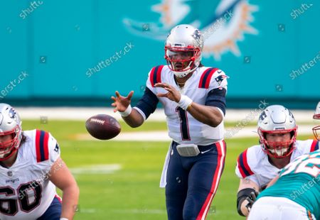 Editorial picture of Patriots Dolphins Football, Miami Gardens, United States - 20 Dec 2020