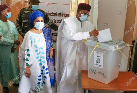 Editorial photo of Niger presidential elections, Niamey - 27 Dec 2020